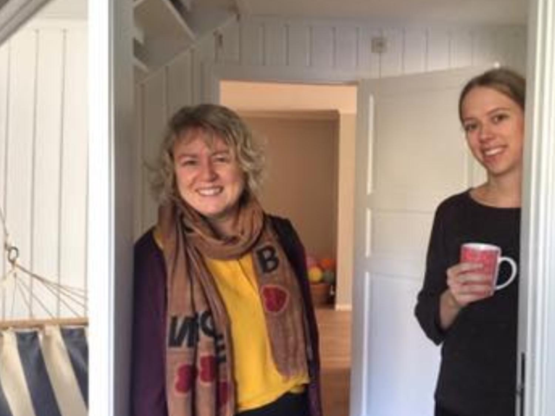 Stiftelsen KRAFT besøkte Marita Women 27.november.